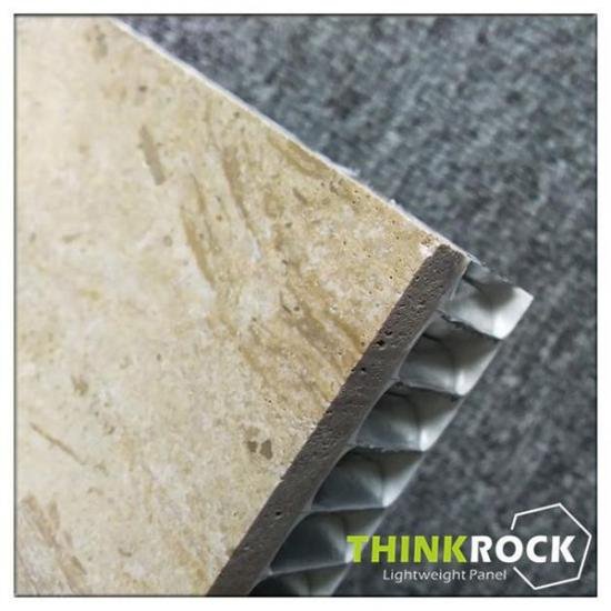 Lightweight Travertine aluminum honeycomb panels