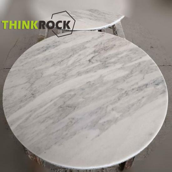 White Marble lightweight coffee table tops kitchen tops