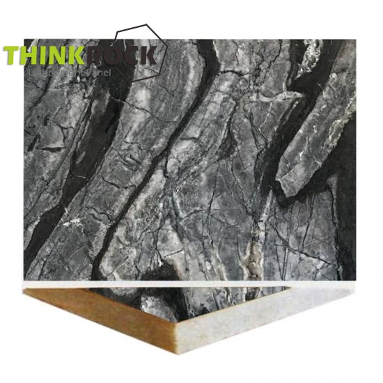 Black Wooden Marble Stone Ceramic Panels